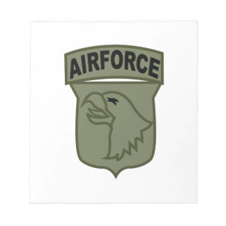 Airforce Memo Notepads