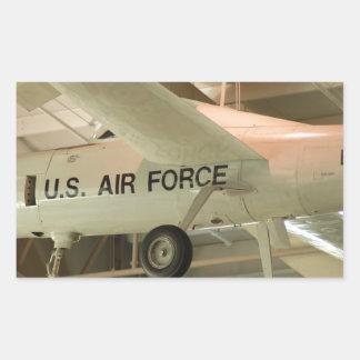 Airforce Rectangular Sticker