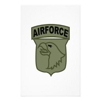 Airforce Customized Stationery