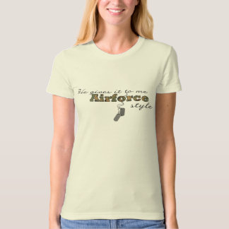 Airforce Style T-shirt