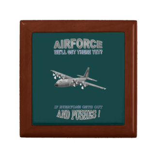 AIRFORCE TRANSPORT SQUADRONS JEWELRY BOX