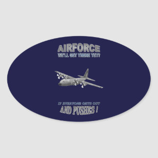 AIRFORCE TRANSPORT SQUADRONS STICKER