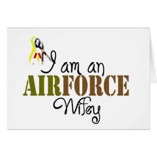 airforce wife card