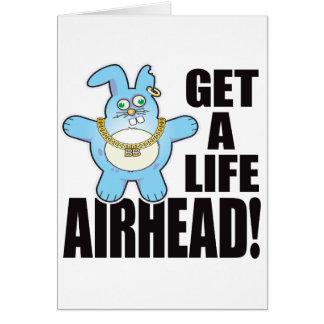 Airhead Bad Bun Life Card