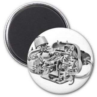 Airhead Cutaway Magnet