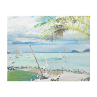 Airlie Beach Australia. 1998 Canvas Print