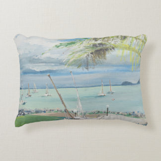 Airlie Beach Australia. 1998 Decorative Pillow