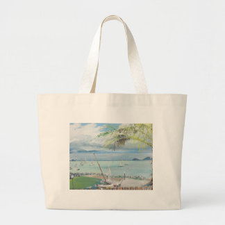 Airlie Beach Australia. 1998 Large Tote Bag