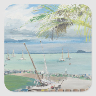 Airlie Beach Australia. 1998 Square Sticker