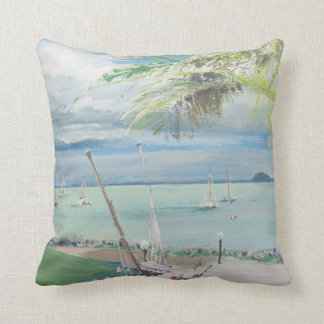 Airlie Beach Australia. 1998 Throw Pillow