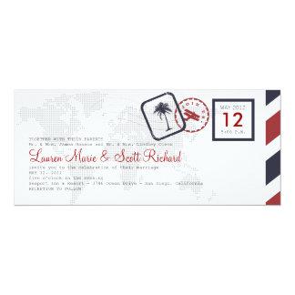 Airline Boarding Pass Invitation