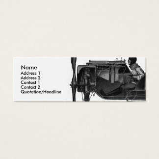 Airline Industry Business Card