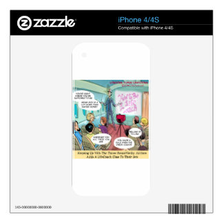Airline LifeCoach Class Funny Decal For The iPhone 4S