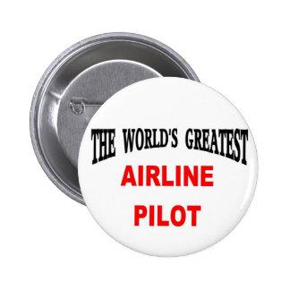 Airline pilot buttons