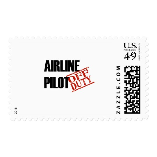 Airline Pilot Light Postage