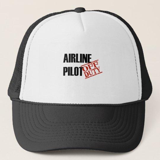 Airline Pilot Light Trucker Hat