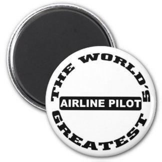 Airline Pilot Magnets