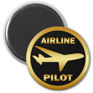 AIRLINE PILOT REFRIGERATOR MAGNET