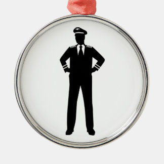 Airline pilot christmas tree ornament