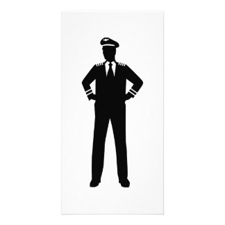 Airline pilot photo cards