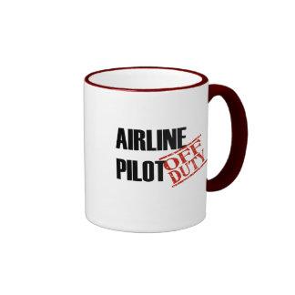 Airline Pilot Ringer Mug