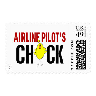 Airline Pilot's Chick Stamp