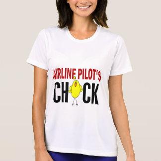 Airline Pilot's Chick Shirt