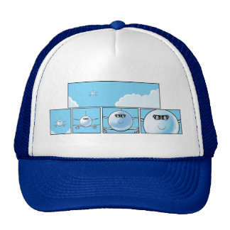 Airline Pilots Cartoon Cap