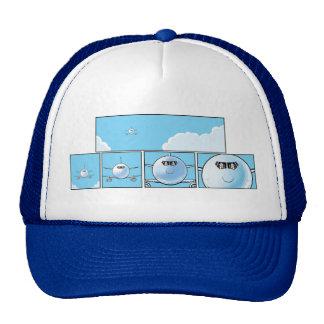 Airline Pilots Cartoon Cap Trucker Hat