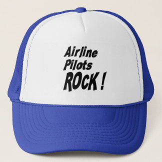 Airline Pilots Rock! Hat
