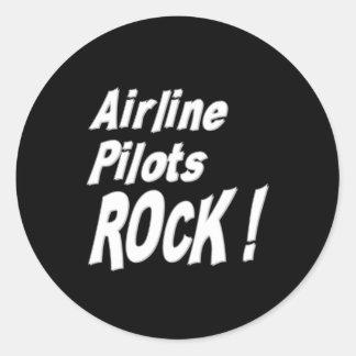 Airline Pilots Rock! Sticker