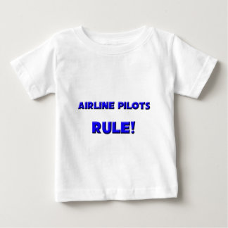 Airline Pilots Rule! Tee Shirts