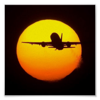 AIRLINE SUN POSTER