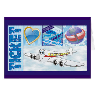 Airline Ticket Card
