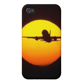 AIRLINER SILOUETTE CASE FOR iPhone 4