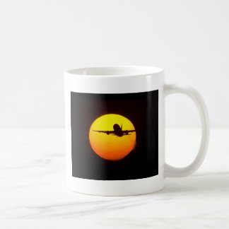 AIRLINER SILOUETTE COFFEE MUGS