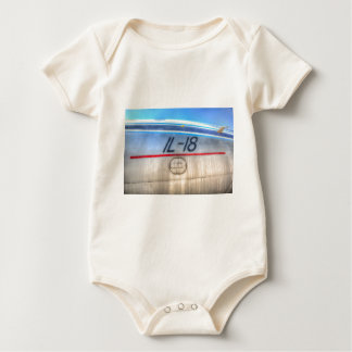 Airlines Ilyushin IL-18 Baby Bodysuit