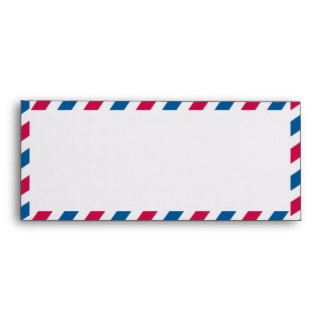 Airmail #10  Envelope
