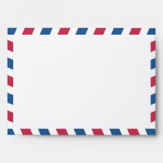 Airmail 5x7 envelope