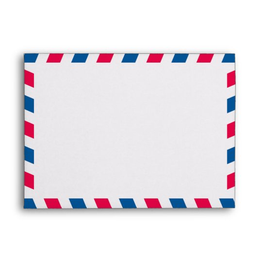 Airmail X Envelope  Zazzle