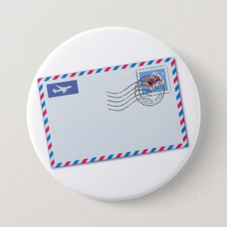 Airmail Envelope Button