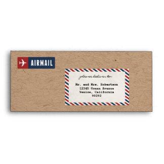 Airmail Envelope Kraft Paper #10