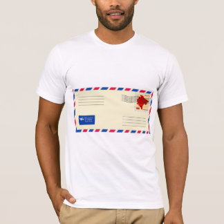 Airmail Envelope Mens T-Shirt