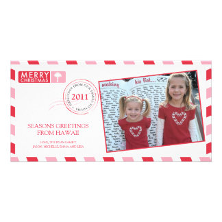 Airmail Holiday Greeting Card