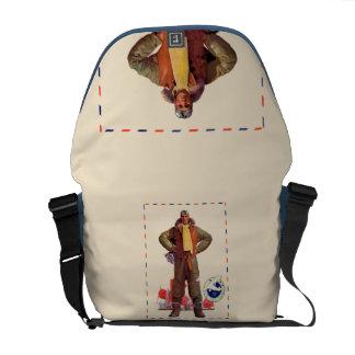 Airmail Pilot Messenger Bag