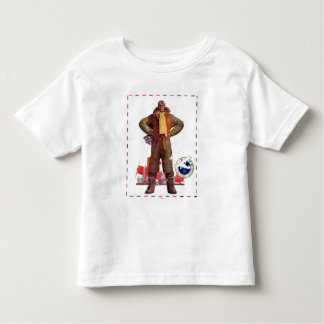 Airmail Pilot Toddler T-shirt