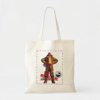Airmail Pilot Tote Bag