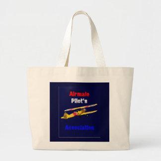 Airmail Pilots Assoc Large Tote Bag