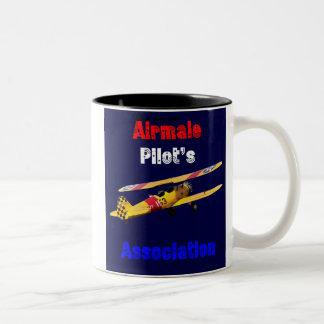 Airmail Pilots Assoc Two-Tone Coffee Mug