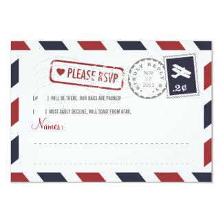 Airmail RSVP Card